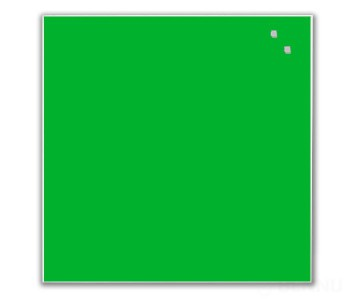 "Доска стеклянная Naga 45x45 Strong Green (10752) - ""GlassBoards"""
